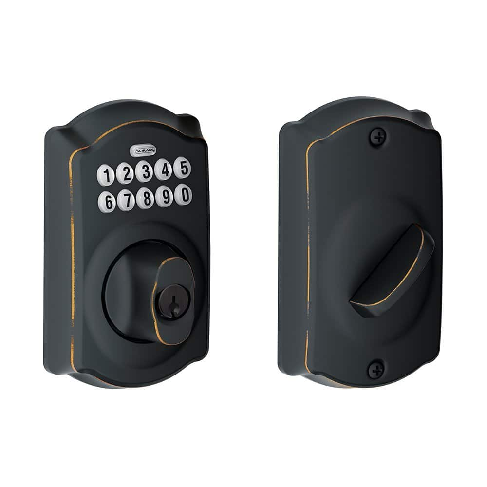Schlage Camelot BE365 Keypad Deadbolts (various colors)  $69.50 + Free S/H