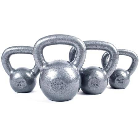 CAP Barbell Cast Iron Kettlebell: 20lbs. $20, 15lbs. $15, 10lbs.  $10 & More + Free Store Pickup