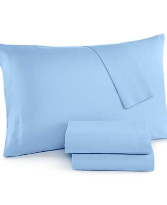 4-Piece Solid Cotton Poly Blend Queen Sheet Set (various colors) 2 for $21.25 shipped ($10.62 each when you buy 2)