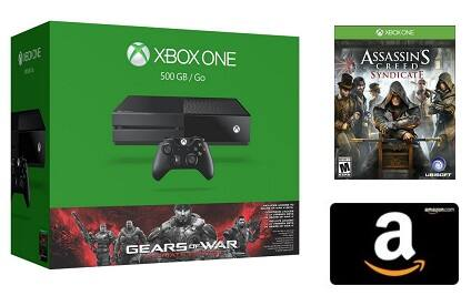 Xbox One GOW: Ultimate Bundle w/ $50 Amazon Credit + 1 Video Game  $349 + Free S/H