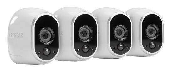 4-Pack Netgear Arlo Smart Home Wireless Security Cameras  $400 + Free S/H