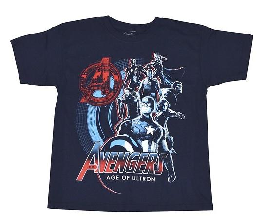 Marvel Avenger's Children Shirts (SM/MED) $3.99 F/S @ BestBuy.com