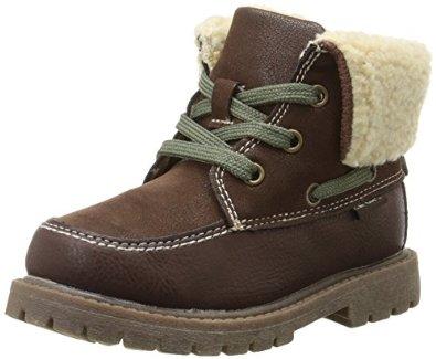 $7.60 (reg $40) Carter's Boy's Sherpa Boot (Toddler/Little Kid 5-12) AC