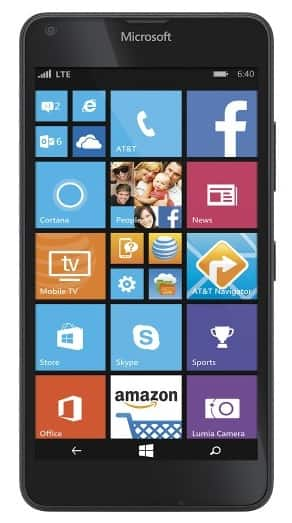 AT&T Nokia Lumia 640 No-Contract Smartphone  $39 + Free S/H