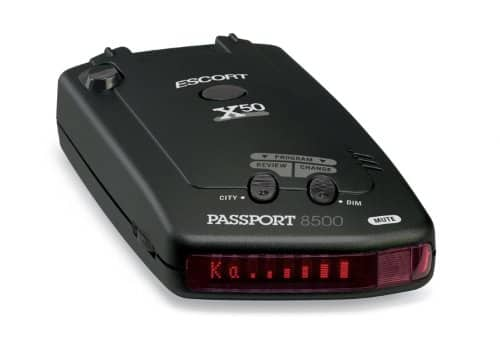 Escort Passport 8500X50 Radar Detector (Red Display) $139.99 + Free Shipping
