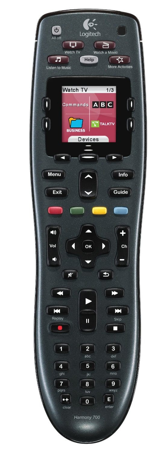 Logitech Harmony 700 Universal Remote $49.99 Shipped - Best Buy Black Friday Deal