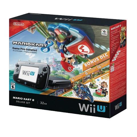 Nintendo Wii U Mario Kart 8 Deluxe Set Bundle, $255