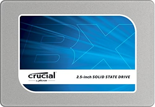 "Select Crucial & Lexar Memory Products: Up to 75% Off: 500GB Crucial BX100 2.5"" SSD Drive $119.99 & More via Amazon"