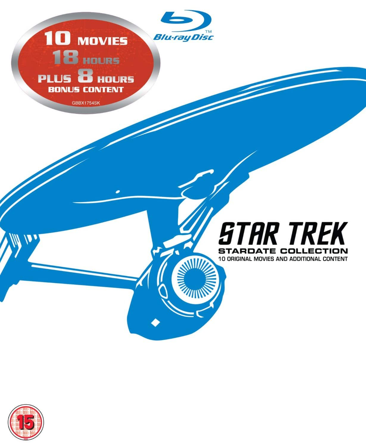 Star Trek: Stardate Collection (Region Free Blu-Ray) $37.56 Shipped