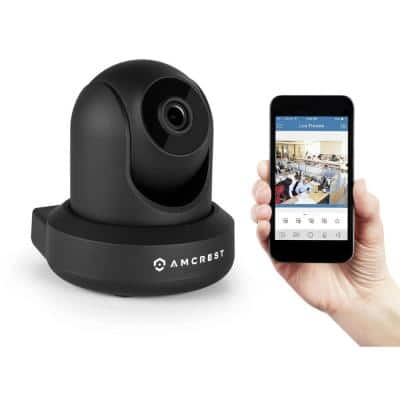 Amcrest 1080P Wi-Fi Video Monitoring Security Wireless IP Camera with Pan/Tilt, 2-Way Audio, Plug and Play Setup - $64.99 w/coupon code Home Depot.com FS