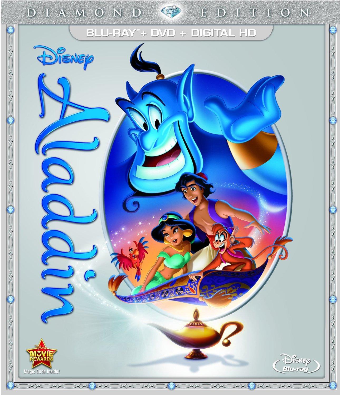 Aladdin: Diamond Edition (Blu-Ray/DVD/Digital HD) $13