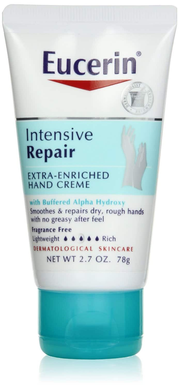 Eucerin Intensive Repair Extra-Enriched Hand Creme, 2.7 Ounce $2.10 or less + free shipping