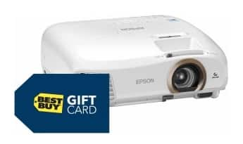 BB Gamers Club Offer: Epson HC 2045 1080p Projector w/ $300 BB GC  $850 + Free S/H