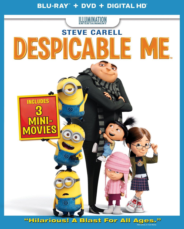 Despicable Me (Blu-ray + DVD + Digital HD) $8 @ Amazon