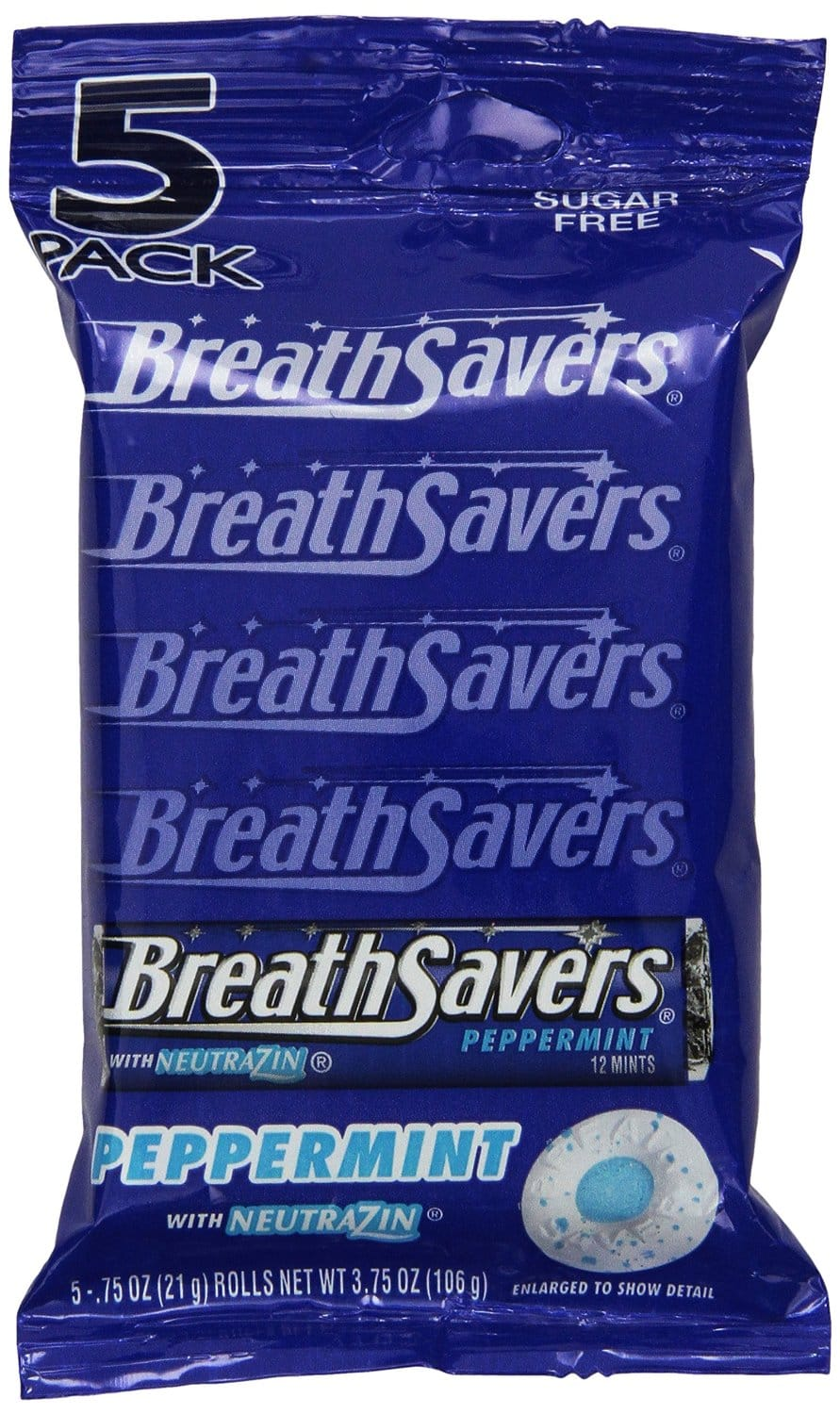 75-Rolls Breath Savers Mints (Peppermint) $5.11 or less + Free Shipping - Amazon S&S