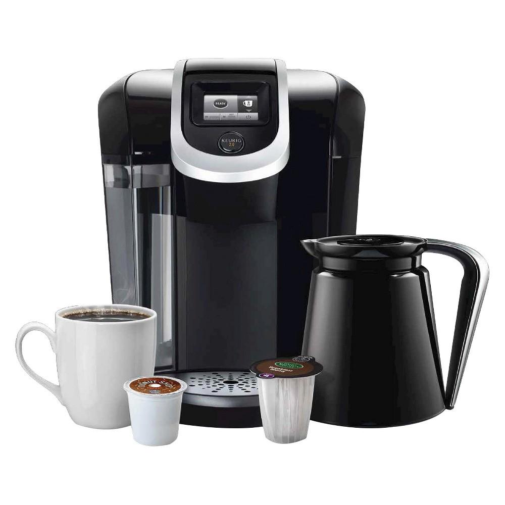 Keurig 2.0 K300 Coffee Maker Brewing System w/ Carafe $94.99 + $25 Gift Card + Free Shipping Target.com
