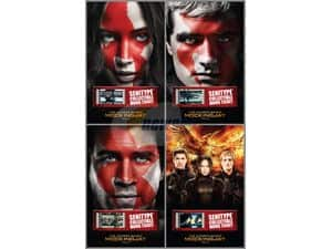 4-Pack The Hunger Games: Mockingjay II Senitype Movie Tickets  Free after $40 Rebate + S/H