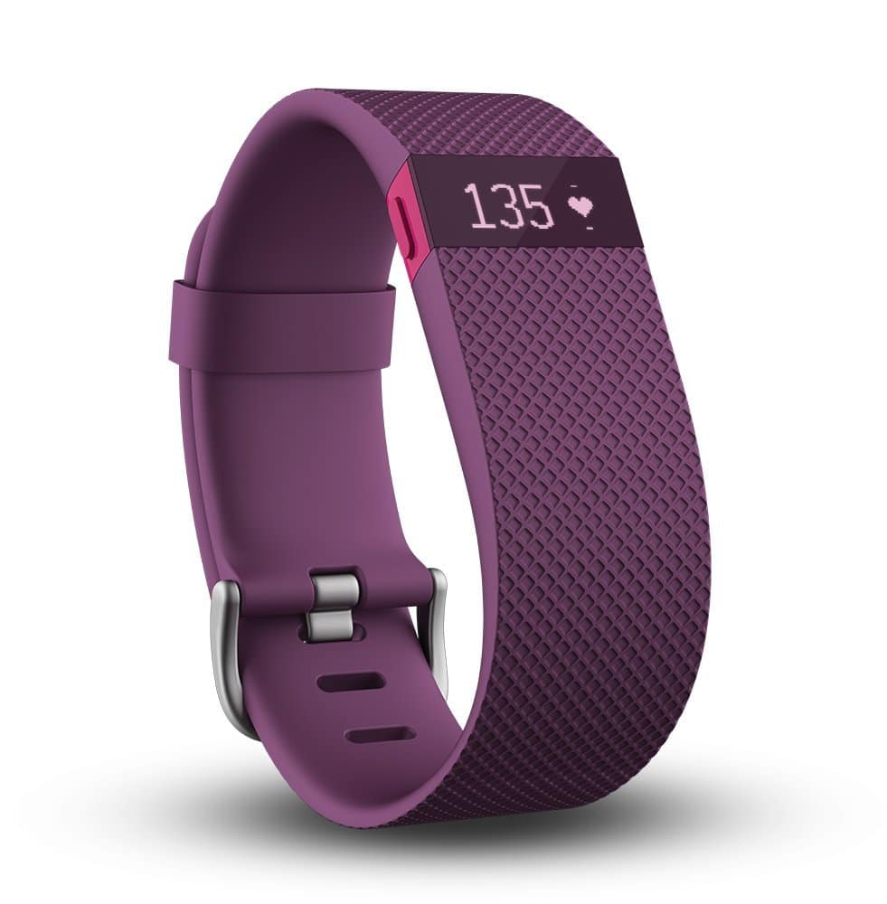 Fitbit Charge HR Activity Tracker Wristband w/ Heart Rate (Plum, Large)  $110 + Free S/H