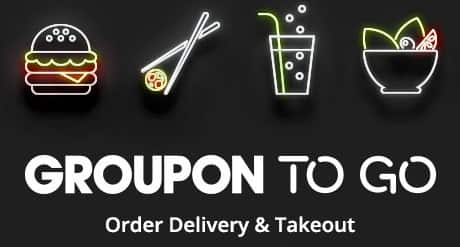 Groupon To Go: Food & Drink Delivery & Takeout Service  $10 Off $15+ (Select Locations)