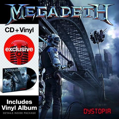 Megadeth: Dystopia (CD + Vinyl)  $12 + Free In-Store Pickup