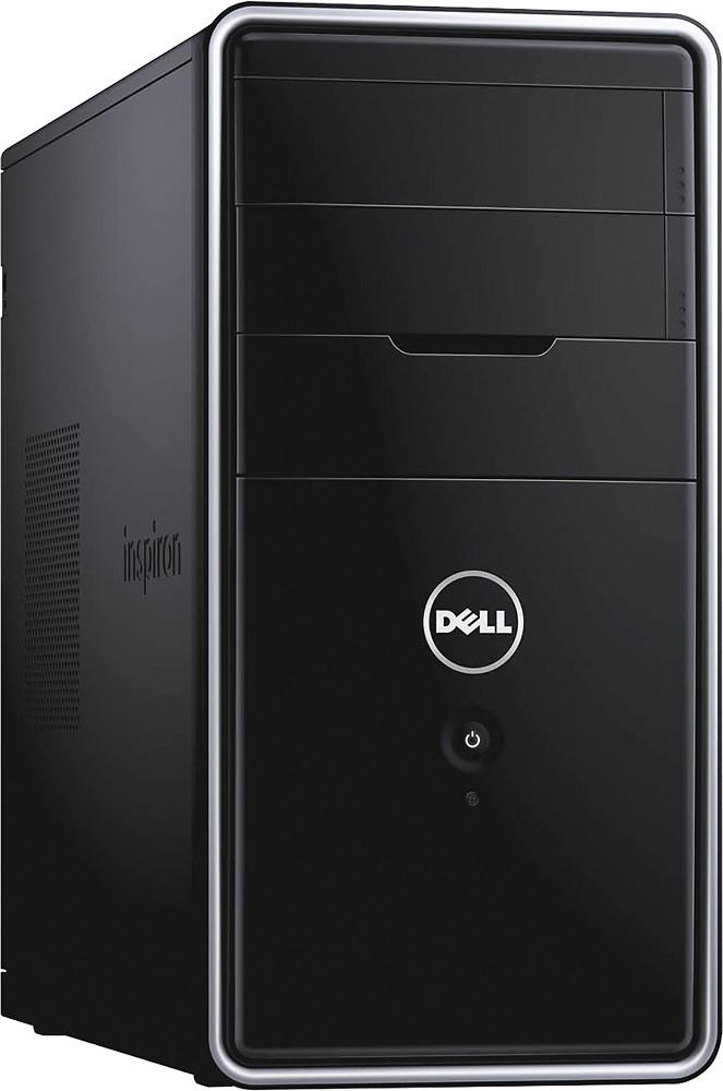 Dell - Inspiron Desktop - Intel Core i7 - 8GB Memory - 1TB Hard Drive - Black $500 bestbuy