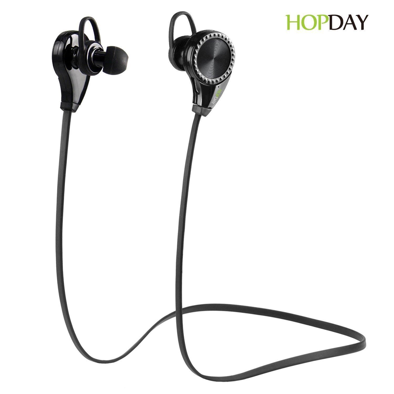 HopDay V4.1 Bluetooth Sport Earbuds w/ Mini Mic (Black)  $3
