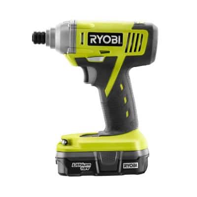 Ryobi ONE+ 18-Volt Lithium-Ion 1/4 in. Cordless Impact Driver Kit $39 + Free Store Pickup ~ Home Depot *YMMV*