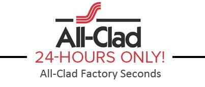 All-Clad Factory Seconds Sale: Fry Pan, Sauce Pan & More  From $50 + Free S/H