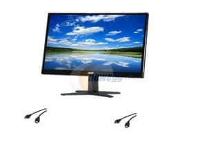 "21.5"" Acer G7 Series 1080p 6ms LED Monitor (G227HQLBI) + 2x 6' Coboc M/M HDMI Cable $84.99 + Free Shipping"