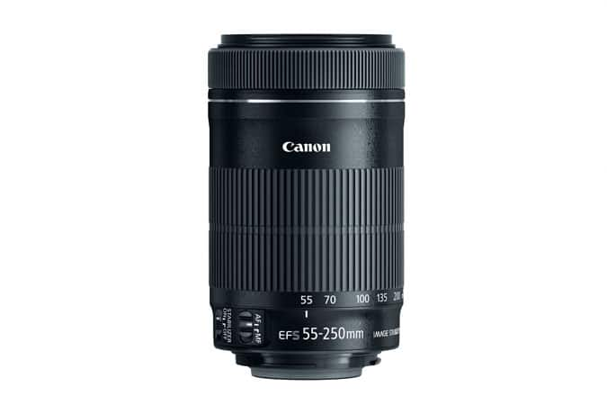 $99 - EF-S 55-250mm f/4-5.6 IS STM Lens Refurbished @canon and 1 Year warranty