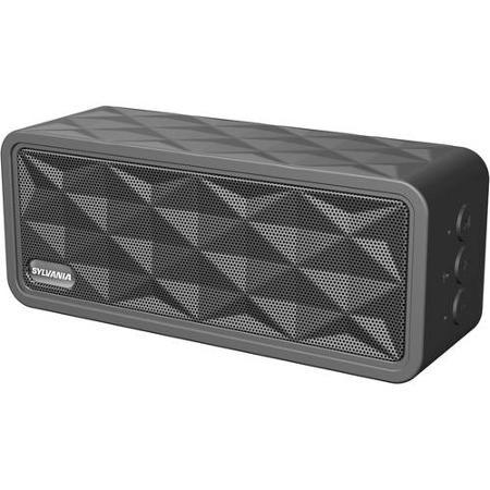 Sylvania Premium Portable Bluetooth Rugged Garage Speaker  $12 + Free In-Store Pickup
