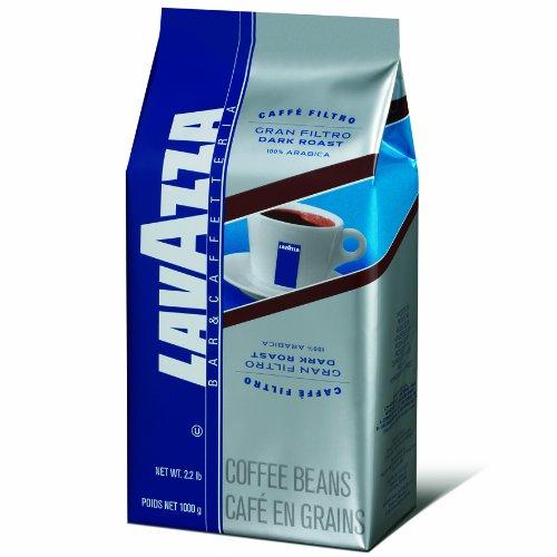 2.2-Pound Lavazza Gran Filtro Dark Roast - Whole Coffee Beans $12.78 or less + Free Shipping & More