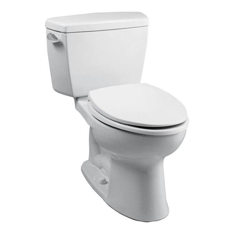 TOTO CST744S Drake 2-Piece Elongated Toilet with G-Max Gravity Flushing System (Cotton White) $180.83 + free shipping