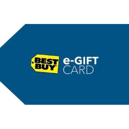 $150 Best Buy eGift Card + $15 eBay eGift Card (Email Delivery)  $150