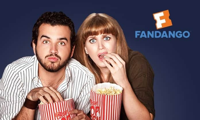 $16 for Fandango Promotional Code Good Toward Two Movie Tickets from Groupon