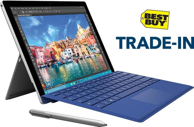 $50 gift card and $50 voucher towards a surface for Any working laptop @ bestbuy