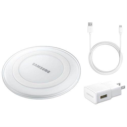 Samsung Fast Charge Qi Wireless Charging Pad + Fast Wall Adapter w/ microUSB Cable $29.99 + Free Shipping