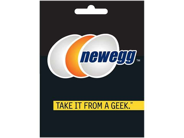 $25 Newegg Gift Card + $5 Newegg Promotional Gift Card  $27