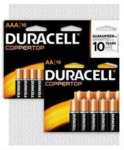 1¢ after OD rewards Duracell AA/AAA Alkaline Batteries 16pack, at Office Depot Office Max B&M 3/27/16 through 4/2/16