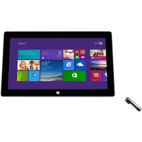 "$379.99 Microsoft - Surface Pro 2 - 10.6"" - 128 GB - Intel Core i5 - Dark titanium"