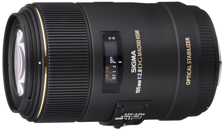 Sigma 105mm F2.8 EX DG OS HSM Macro Lens  -$389.99