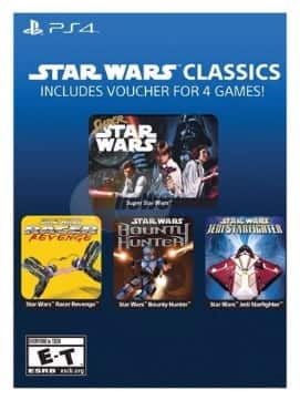 Star Wars Classics (PS4 Voucher) or AC: Unity (Xbox One)  Free or Better after $20 Rebate + S/H