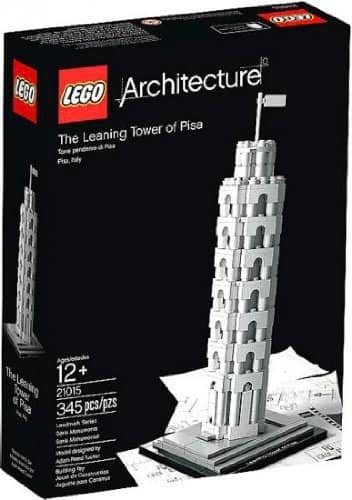 LEGO Architecture: The Leaning Tower of Pisa Building Set  $30