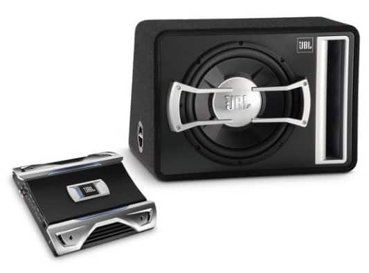 JBL GTO BASS PACK Enclosed Subwoofer and Amplifier (Recertified) - $119.99 + Free Shipping & Returns