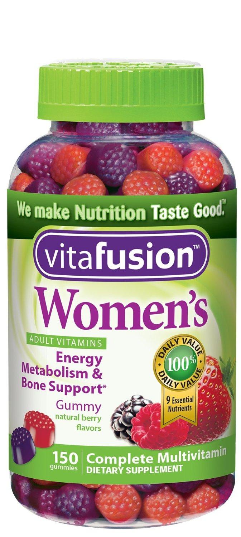 Vitafusion Gummy Vitamins: 150-Ct Women's $6.25, 150-Ct Biotin  $6.35 & More + Free S/H