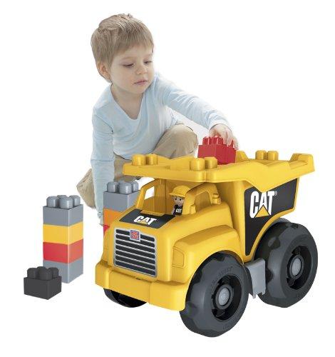 Mega Bloks: Caterpillar Large Dump Truck w/ Building Blocks  $18 + Free In-Store Pickup