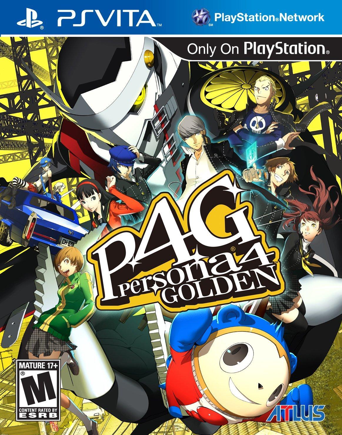 Persona 4 Golden - PS Vita [Digital Code] $9.90 + Free Shipping from Amazon