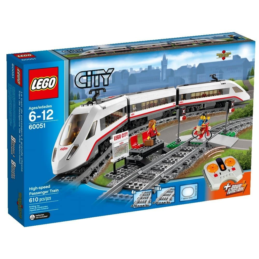 LEGO City High-Speed Passenger Train Building Set  $103 + Free S/H