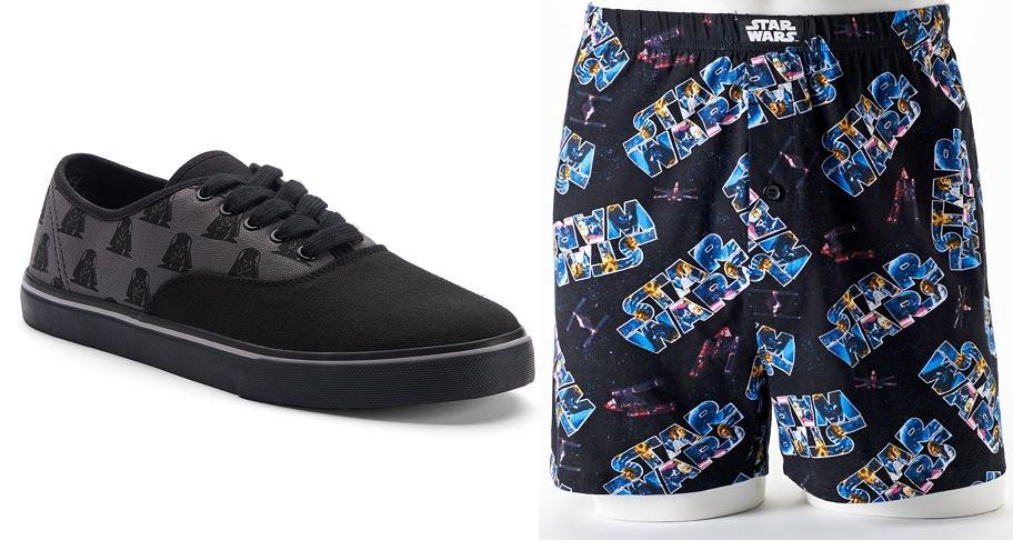 Kohls Cardholders: Skechers Men's Star Wars Sneakers + Men's Star Wars Boxer & Foam Drink Holder Set $15.86 + Free Shipping