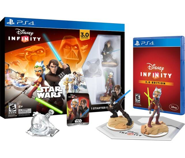 Disney Infinity: 3.0 Edition Star Wars Starter Pack (PS4, Xbox One, PS3, Xbox 360 or Wii U) $29.99 ($23.99 w/ GCU) + Free Store Pickup